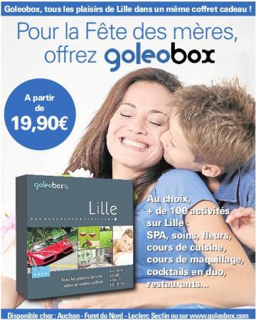 Campagne publicitaire Goleobox pour le fête des mères 2011