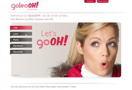 Goleooh.com site de ventes privées Lillois